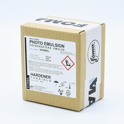 Foma Normal Contrast Liquid Photo Emulsion - 250ml + Hardener - 4ml