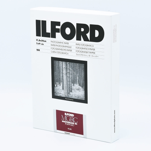 Ilford Photo 17,8x24 cm - PEARL - 100 SHEETS - Multigrade V RC Portfolio HAR1181586