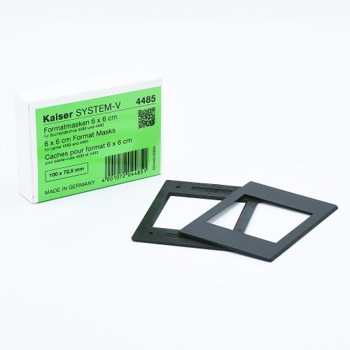 Kaiser Film Mask 6 x 6 cm pour Agrandisseurs et FilmCopy Vario