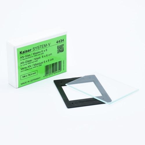 Kaiser Anti-Newton Film Mask 6 x 6 cm pour Agrandisseurs et FilmCopy Vario