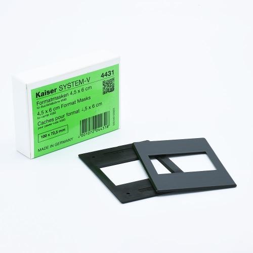 Kaiser Film Masker 4,5 x 6 cm voor Vergroters en FilmCopy Vario