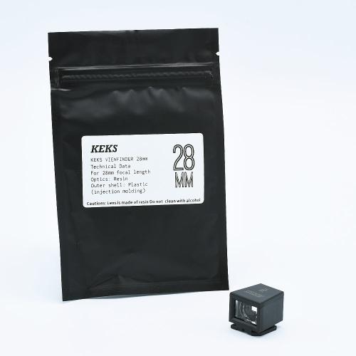 KEKS Viewfinder - 28mm (Black)
