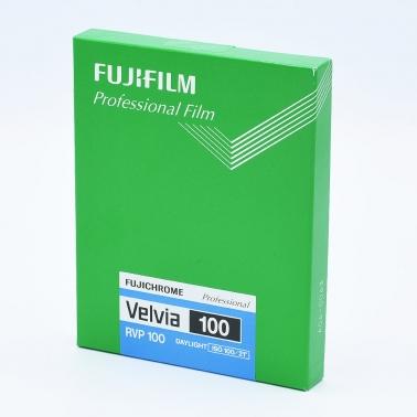 Fujichrome Velvia 100 4x5 INCH / 20 sheets