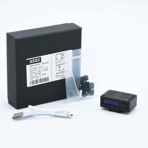 KEKS EM-01 Posemètre - Noir