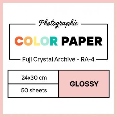 Fujifilm 24x30 cm - GLOSSY - 50 SHEETS - Fujicolor Crystal Archive