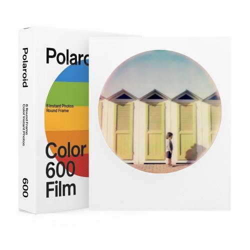 Polaroid 600 Color Instant Film - Round Frame Edition