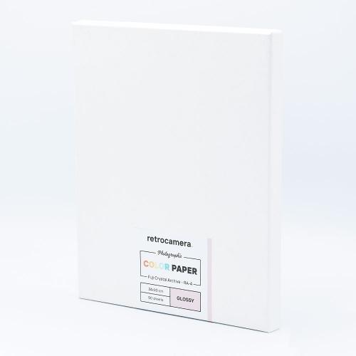 Fujifilm 30x40 cm - BRILLANT - 50 FEUILLES - Fujicolor Crystal Archive