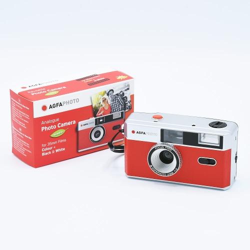 AgfaPhoto Analogue 35mm Photo Camera (Reusable) - Rouge