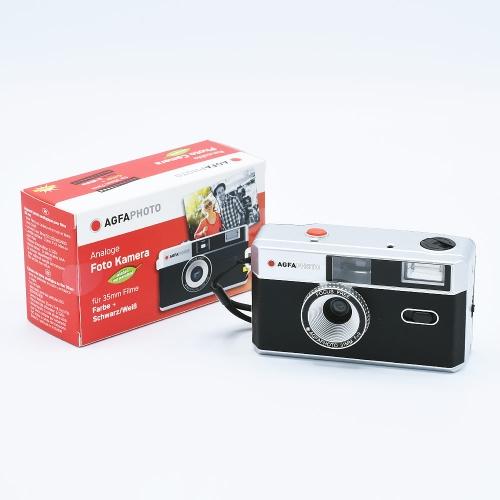 AgfaPhoto Analogue 35mm Photo Camera (Reusable) - Black