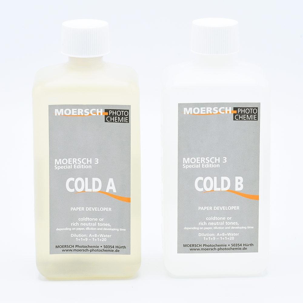 Moersch SE3 Cold Papierontwikkelaar - (2x500ml)