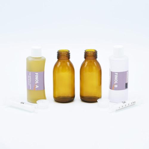 Moersch Finol 200 Filmontwikkelaar - (2x100ml) + Glazen flessen