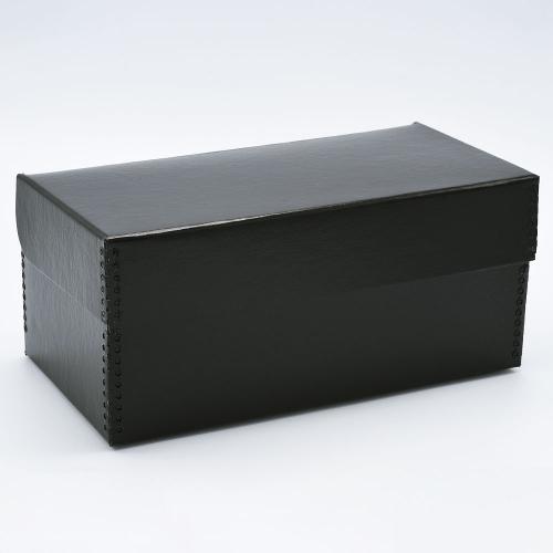 """Print File FlipTop Negative Strip Storage Box voor 4x5"""" Sheet Film - Zwart"""