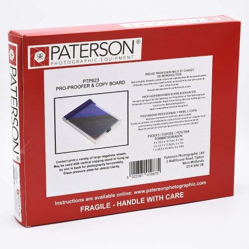 Paterson Pro Proofer / Copy Board - 25,4x30,5 cm (10x12 inch)