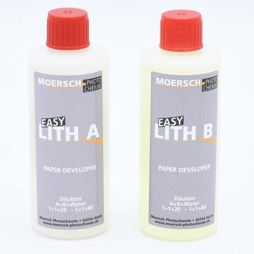 Moersch Easy Lith Paper Developer - 200ml / (2x100ml)