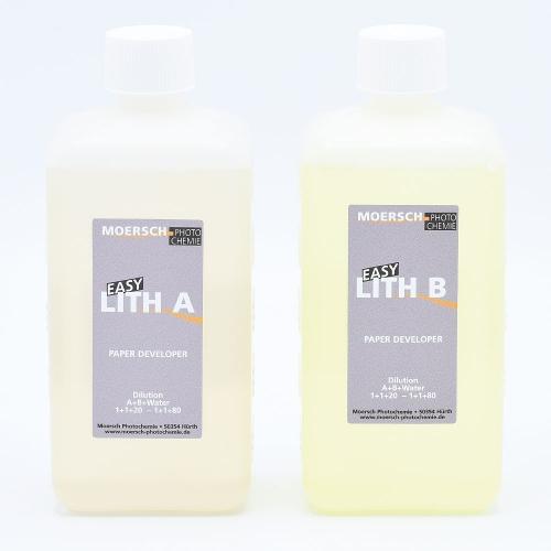 Moersch Easy Lith Papierontwikkelaar - 1L / (2x500ml)
