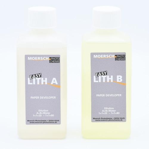 Moersch Easy Lith Papierontwikkelaar - 500ml / (2x250ml)