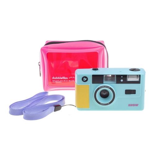 Dubblefilm SHOW 35mm Camera (Herbruikbaar) - Turquoise