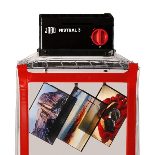 Jobo 3522 Mistral 3 Kit de Cabine de Séchage pour Film Plan