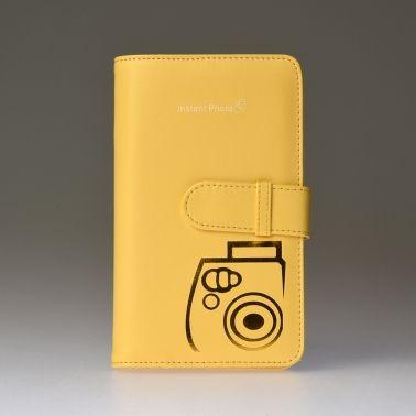 Premium fotoalbum Instax Mini - Geel