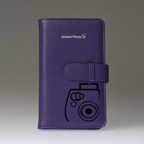 Premium fotoalbum Instax Mini - Paars