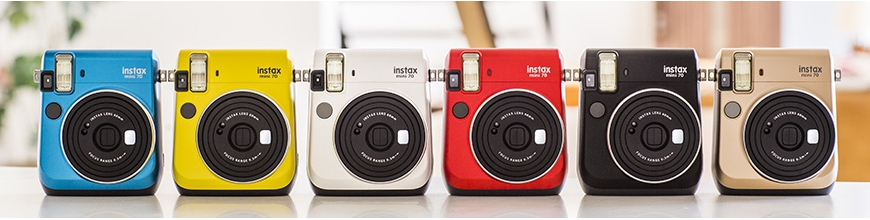 Fujifilm Instax Mini 70 Instant Cameras