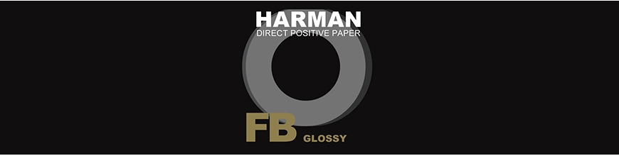 Harman Direct Positive - Papier Photo Positif-Direct Noir et Blanc